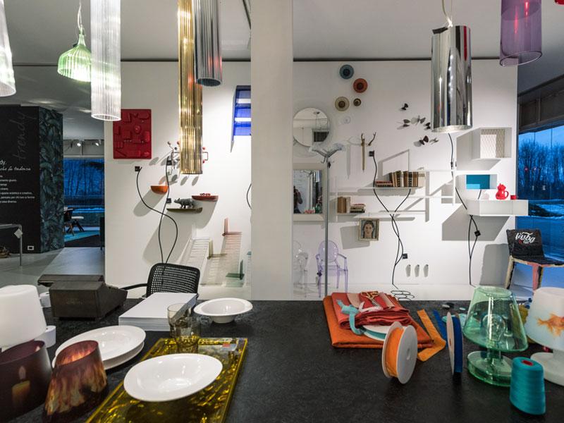 Spazio complementi d'arredo showroom Bortoluzzi