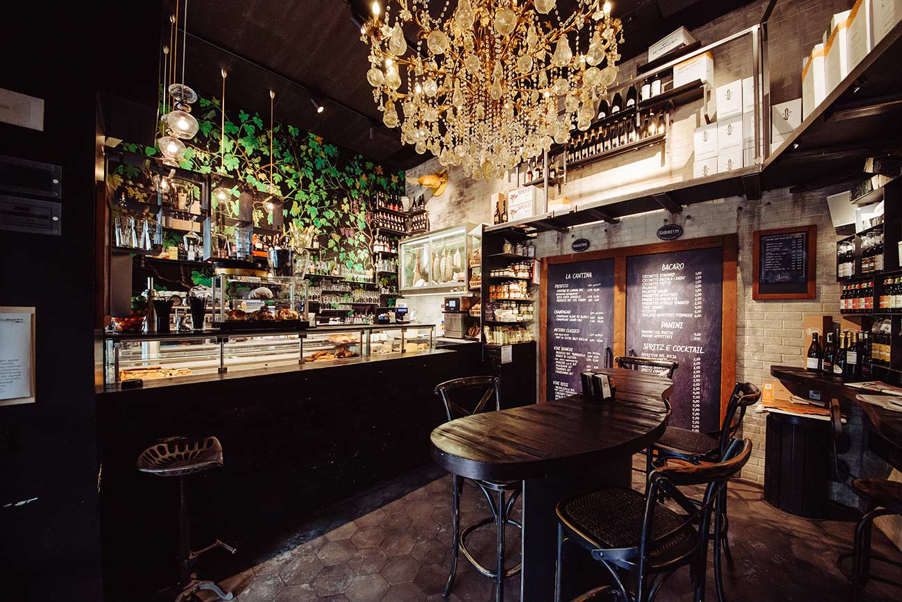 Realizzazione bar e ristoranti Belluno Bortoluzzi Arredamenti