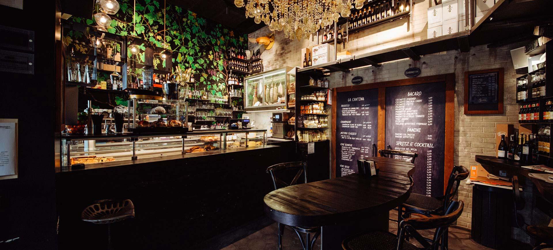 Realizzazione bar e ristoranti Bortoluzzi Arredamenti