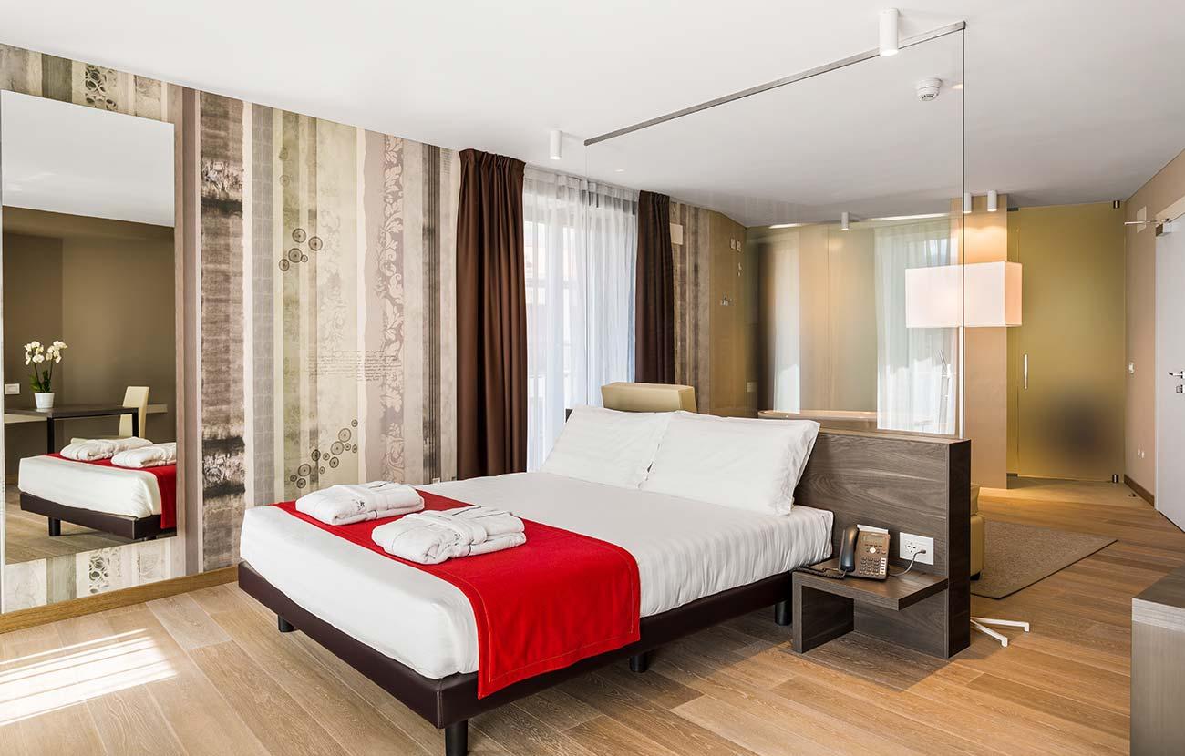 Interior design hotel Bortoluzzi Arredamenti