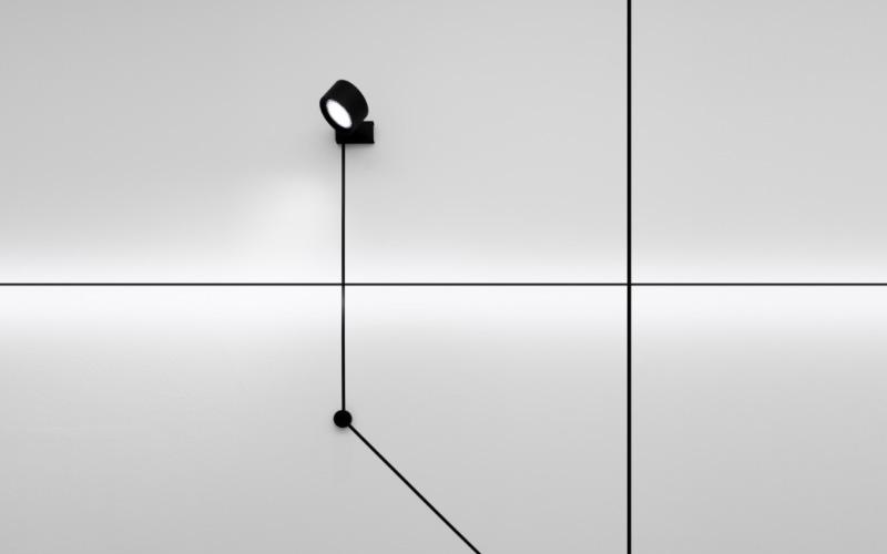 Endless, sistema a parete di Davide Groppi