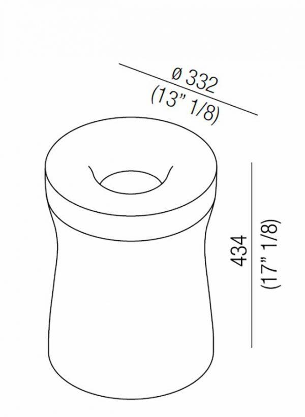 Agape Design cesto Roto | Outlet Bortoluzzi Arredamenti