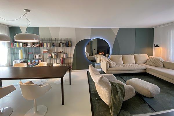 Un salotto per tutti e tutto in un salotto | Redesign Bortoluzzi Arredamenti