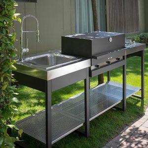 Cucina da esterni Fògher, il modo migliore di vivere l'outdoor | Bortoluzzi Arredamenti